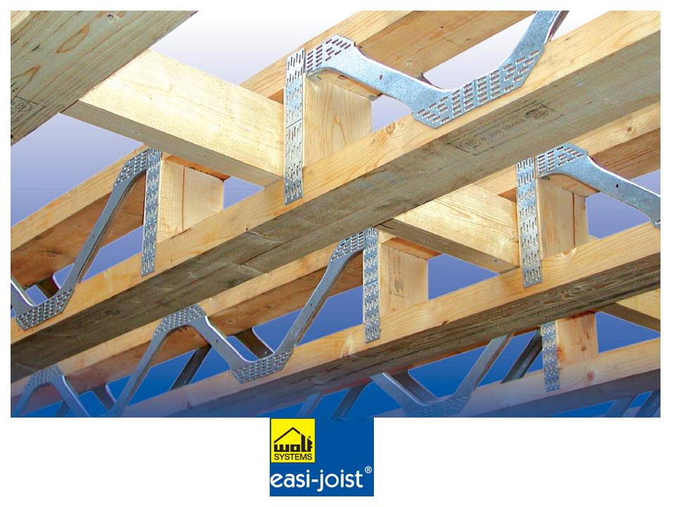 Vigas easy joist timber frame en espa a - Steel framing espana ...